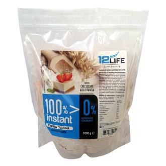 100% Instant farina d'avena 12 Life